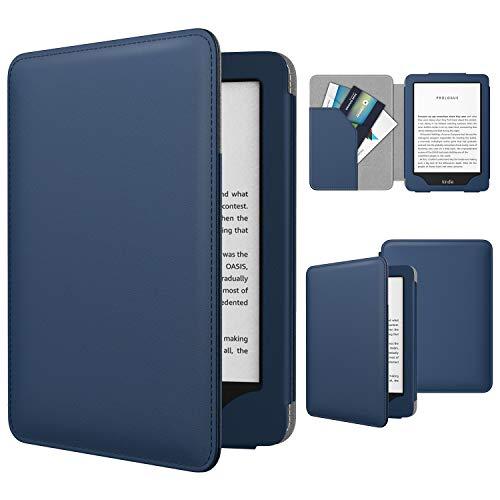 TiMOVO Funda Compatible con Nuevo Kindle (10ª generación - Modelo 2019), Protector Cubierta Inteligente con La Función de Auto Estela/Sueño Smart Cover (No para Kindle Paperwhite) - Índigo