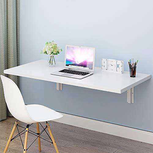 Warooma Klappbarer Drop-Leaf-Tisch an der Wand - Schreibtisch/Computertisch Multifunktions-Laptop-Schreibtisch Studiertisch Küchen- und Esstisch für Büro und Zuhause