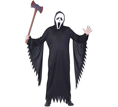 Haunted House S8364 Scream AD kostuum, meerkleurig