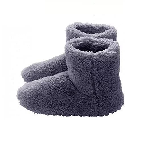 Climatizada Zapatillas Calientes USB Calefacción Zapatillas de Invierno Plantillas de Calentamiento para Buena Noche de sueño 5V Calentador