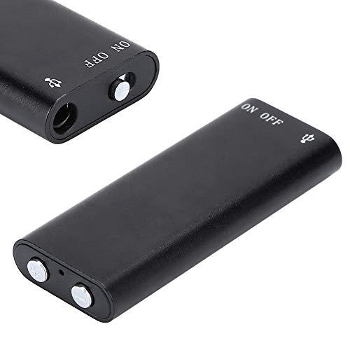 Socobeta Reproductor de MP3 Plug and Play de 8 GB Mini Grabador de Sonido de Disco Flash USB Digital para Escuchar tu canción Favorita