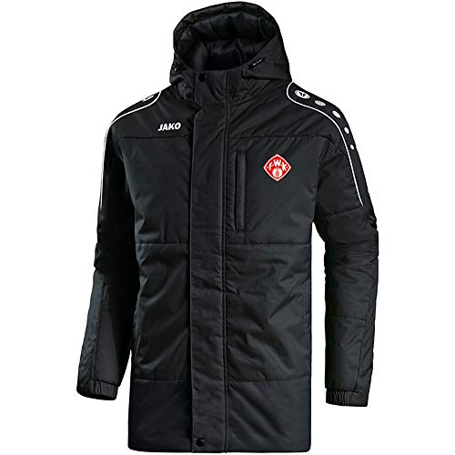 Preisvergleich Produktbild Jako Würzburger Kickers Coachjacke Active,  Farbe:schwarz / weiß,  Größe:M