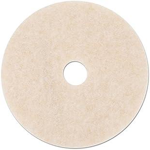 3M - Ultra High-Speed TopLine Floor Burnishing Pads 3200, 20-Inch, White/Amber 18066 (DMi CT:Labuttanret