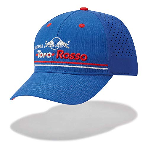 Red Bull Toro Rosso Official Team Gorra Perforated, Azul Unisexo Talla única...
