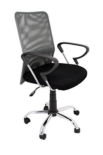 La Chaise Spaanse salamanque bureaustoel 51.50x113x63.50 cm grijs.