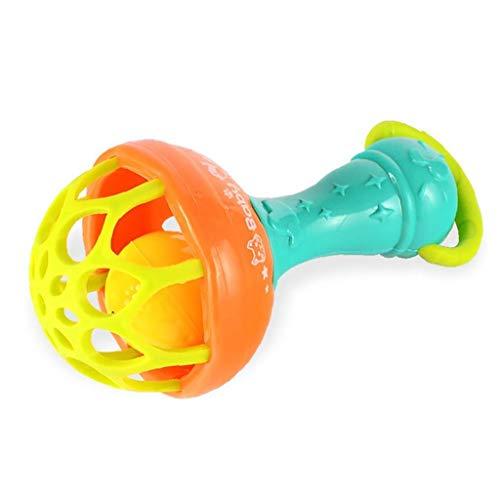 xuew Bebé confunde Mano de Bell coctelera Juguete para el niño del bebé Los Primeros Juguetes educativos para los 3, 6, 9, 12 Mes Infantil