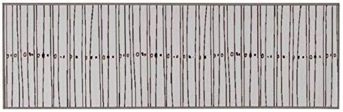 ABC Tappeti Alfombra Zen Gris 57 x 140 cm