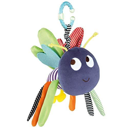 Einsgut Kinderwagen Spielzeug Premium Cute Bee Clip On Kinderwagen Spielzeug Baby Kinderwagen Plüsch Spielzeug