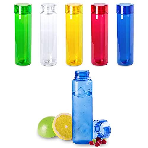 Antevia – Botella deportiva impermeable, 780 ml, ultraligera de tritán, sin BPA, más de 10 modelos, color azul translúcido (Lobrok azul)