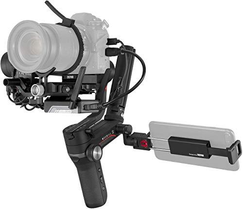 ZHIYUN WEEBILL-S [Oficial] Gimbal Estabilizador para cámaras DSLR, cámaras sin Espejo con Lentes Combinados(Image Transmission Pro Package)