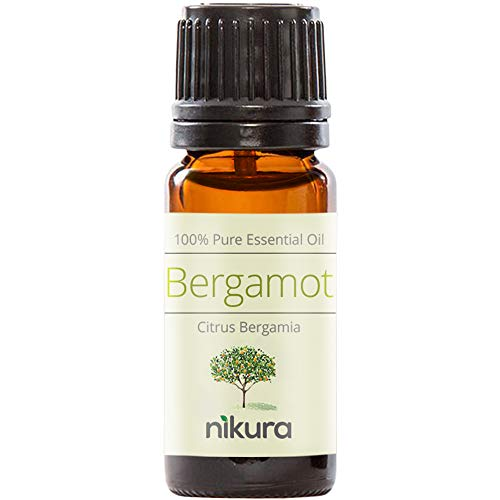 Nikura 100% Pure Bergamot Essential Oil 10ml, 50ml, 100ml (10ml)