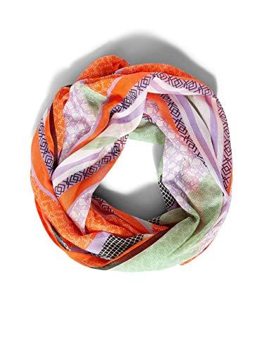 Street One Damen Loop Mode-Schal, Shiny Tangerine, A