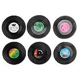 Posavasos para tazas 6 Unids/set Posavasos de plástico Suministros de cocina Tapete para tazas Restaurante Cafeterías Comedor para el hogar