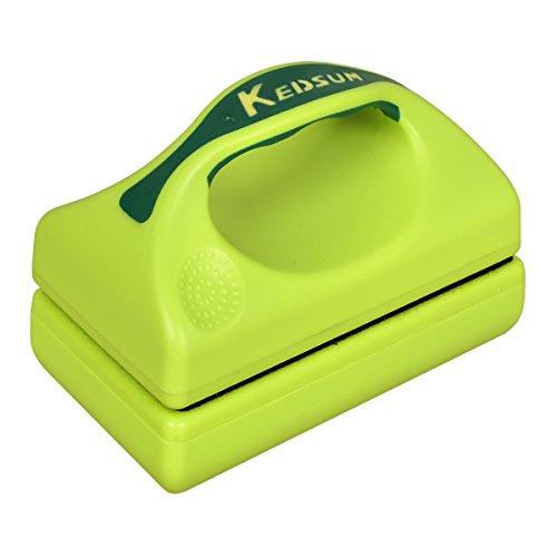 KEDSUM Magnetic Aquarium Fish Tank Cleaner, Fish Tank Glass Cleaner, Floating Clean Brush with Handle Design