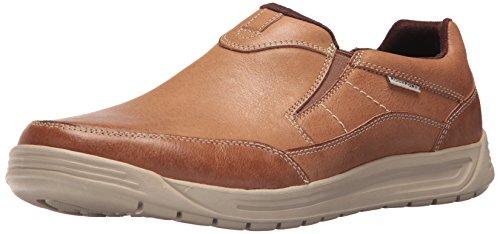 Rockport Men's Randle Slip-On Shoe, boston tan, 10.5 M US