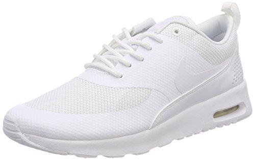 Nike Women's Air Max Thea Trainers, White (White/White/White 107), 5 UK 38.5 EU
