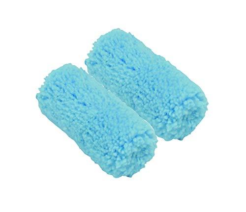 Nespoli 27164060 - Set di 2 mini manicotti in teflon, finitura satinata, 60 mm, colore: Blu
