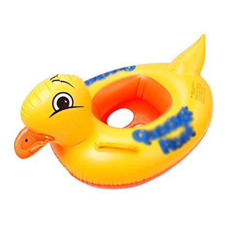 Schwimmringe Schwimmen Ring Baby Sitting Kreis Cartoon Ente Schwimmen Ring Verdickung Aufblasbare Kindersitz Junge Mädchen Gelb Pool Spielzeuge