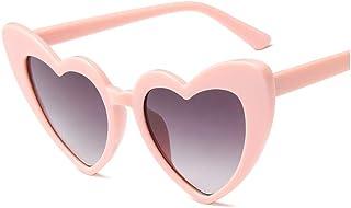 7c9142551e WJFDSGYG Las Mujeres Aman Las Gafas De Sol En Forma De Corazón del  Diseñador Cat Eye