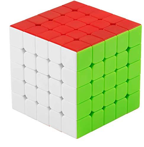 FAVNIC Blackmagic Cube Magnetischer Zauberwürfel, Magnetischer Zauberwürfel Puzzles Spielzeug (Magischer Würfel 5x5)