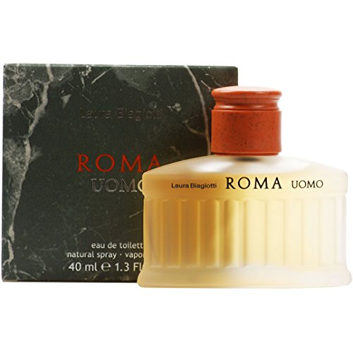 Laura Biagiotti Roma Uomo homme/ men Eau de Toilette, Vaporisateur/ Spray, 40 ml