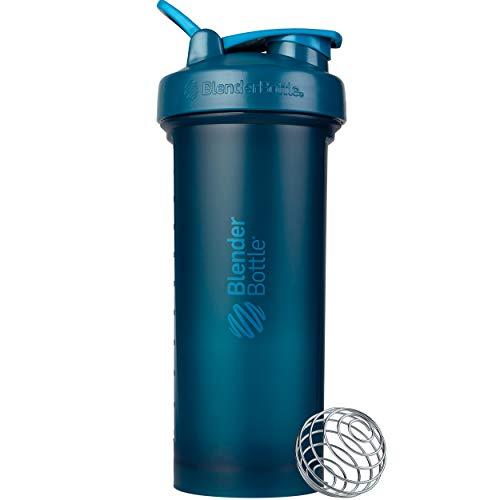 BlenderBottle Classic V2 Shaker Bottle, 45-Ounce, Ocean Blue