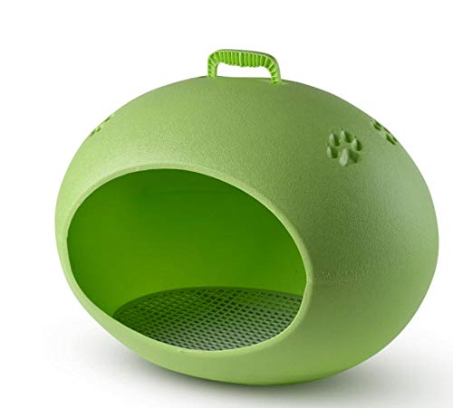 Kennelcolor Eivormige Kennel Outdoor Regendicht Hondenhok Huis Wasbare Pet Cage 10 Kg Maximale capaciteit