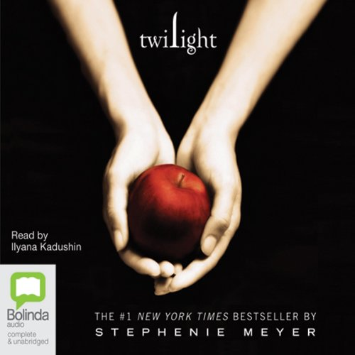 Twilight     The Twilight Saga, Book 1              By:                                                                                                                                 Stephenie Meyer                               Narrated by:                                                                                                                                 Ilyana Kadushin                      Length: 12 hrs and 51 mins     194 ratings     Overall 4.1