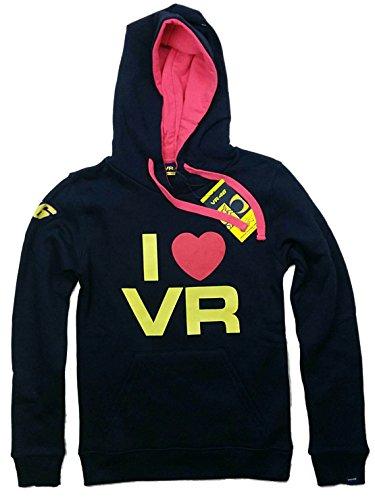 "MotoGP Damen ""I Love Valentino Rossi"" Hoodie, Marineblau, damen, navy, L"