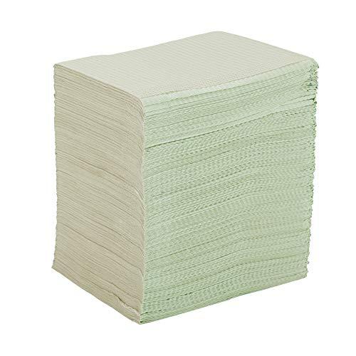 Babero impermeable para paciente, 500 unidades de 13 x 18