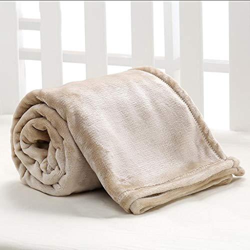 QXHELI Khaki babydeken onzichtbaar polyester materiaal van de winter van de wieg ontworpen voor baby (100 * 150cm).