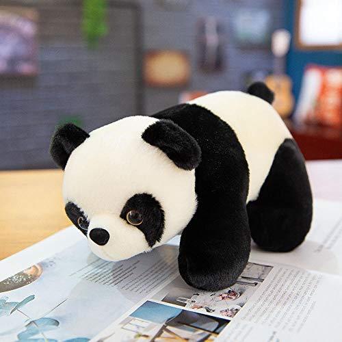Wuyuana Plushies Kawaii Plüsch-Panda-Puppe, Plüschtier, schwarz und weiß, Riesen-Panda, Kuscheltiere, Stofftiere (Farbe: Panda, Größe: 32 cm)