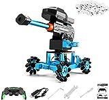 Wghz (Robot de Bomba de Agua de aleación) Robot RC, Pinza de Control Remoto de aleación de Aluminio para Coche con Brazo robótico 2,4 GHz con Ruedas Juguete de construcción para niños