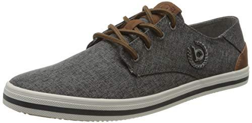 bugatti Herren 321502056950 Sneaker, Grau, 43 EU