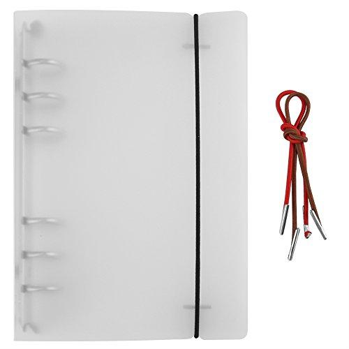 3 soorten A7, A6, A5 ringbanden, binder enveloppen, losse bladboek, binder, verzamelalbum, fotoalbum, binder, losse bladbinder met koorden voor thuis en op kantoor A6.