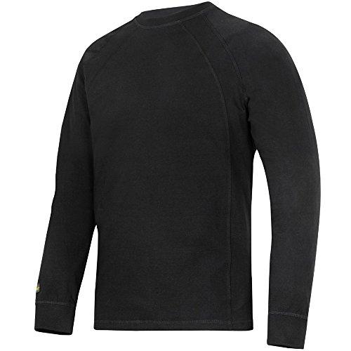 Snickers Workwear Snickers Langarm T-Shirt schwarz Größe: L