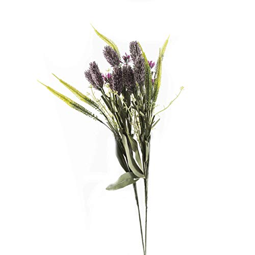 Deko-Feldblume Lavendel-Optik   knuellermarkt24.de   lila im 2er Set Kunst-Blume künstlich Plastikblume