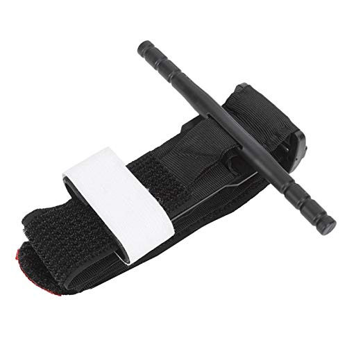 Snufeve6 Torniquete Giratorio, torniquete Universal Flexible con Material de Nailon magulladuras y Cortes para mochileros