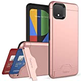 Teelevo Wallet Case for Google Pixel 4 XL, Dual Layer Case with...