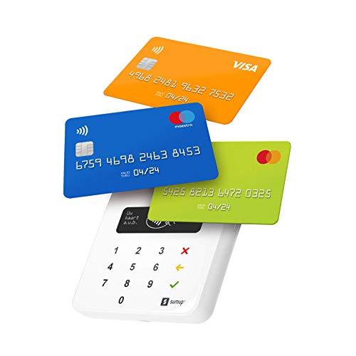 SumUp Air Mobiel Pinapparaat - Contactloos betalen met Credit & Debit Card - Apple & Google pay - NFC RFID pinapparaat - Credit Card reader - Contactless Card Payment