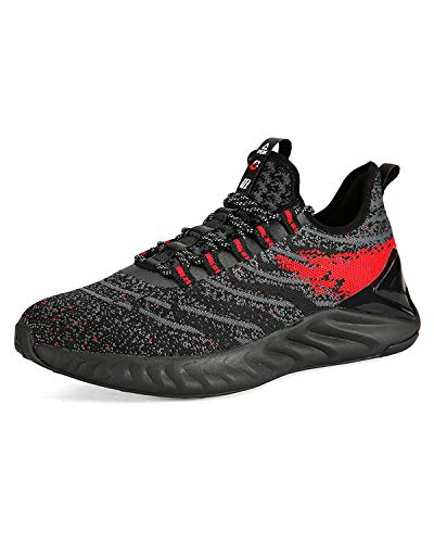 PEAK Mens Comfortable Running Shoes Taichi King Adaptive Smart Cushioning Supportive Training Sneakers for Walking, Tennis, Fitness, Gym