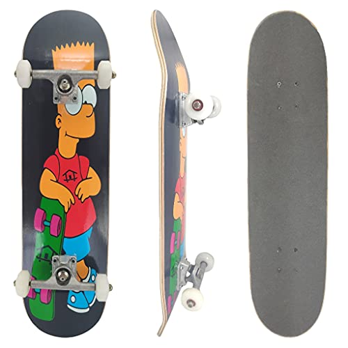 Skate Montado Profissional House Skateboarding Bart
