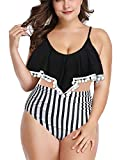 Yanlian Bikini Mujer Push Up Mujeres Conjunto de Traje de BañO Relleno Trajes de BañO Mujer Bikini Estampado Dividido BañAdores 5 S
