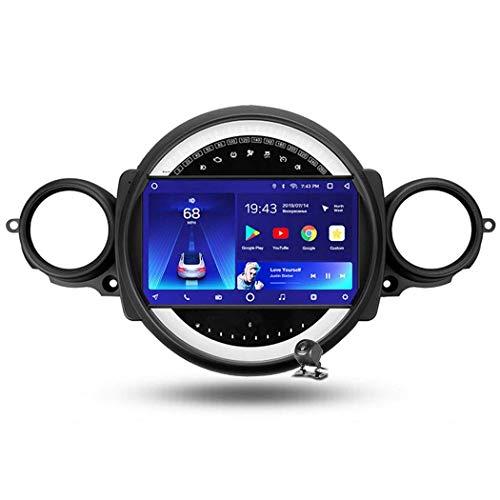 Android 9.0 Radio estéreo para automóvil Compatible con BMW Mini 2007-2015 Navegación GPS Unidad Principal de Pantalla táctil de 9 Pulgadas Reproductor Multimedia MP5 Video con 4G WiFi DSP Mirror Lin