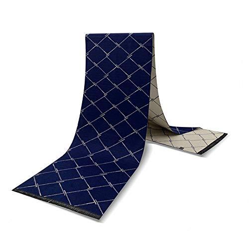 DISCOUNTL Herren Schals für Damen, Casual Männer und Frauen warm gebürstet kariert Business Imitation Kaschmir Jacquard Schal Gr. 180 cm, Abbildung 2