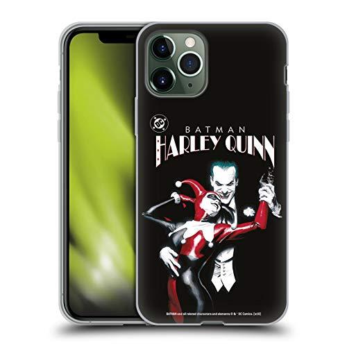 Head Case Designs sous Licence Officielle The Joker DC Comics Batman: Harley Quinn 1 Art Personnage Coque en Gel Doux Compatible avec Apple iPhone 11 Pro