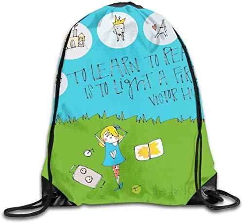 SDFGSE Ark Survival Evolved Icon Drawstring Backpack Sport Bag