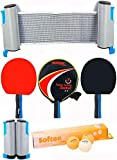 Softee Equipment Super Set Ping Pong P300 - Negro