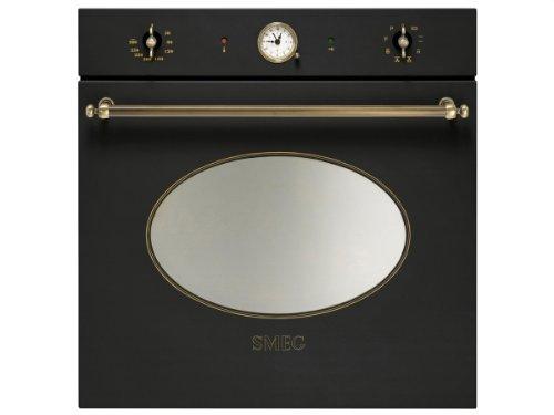 Smeg SFP805AO - Horno (79L, 3000W, Eléctrico, Incorporado, Antracita, Giratorio)
