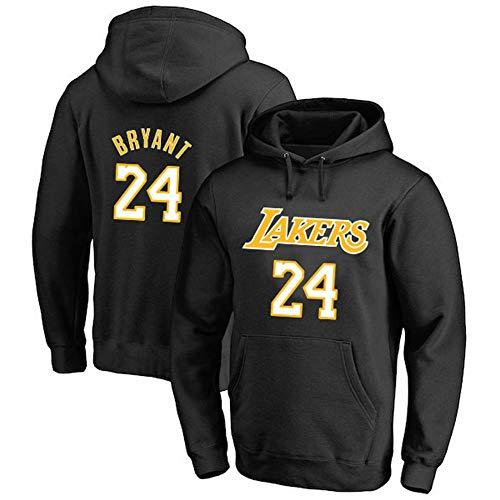 GRYUEN Männer Hoodie NBA Lakers 24# Kobe Bryant Trainingsanzug Basketball Hoodie Sport T-Shirt
